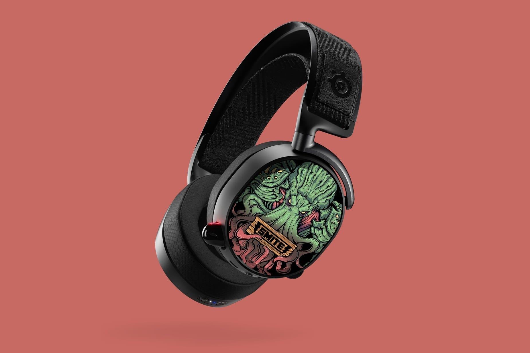 Plaques d'écouteurs Arctis Pro : Smite